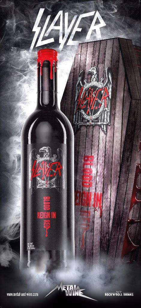 Slayer Wein Sarg inkl. 1 Fl. Slayer Reign in Blood Red Wein 2019