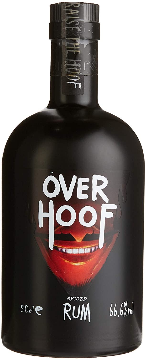 Over Hoof Spiced Rum Limited Edition by Cloven Hoof, 50cl