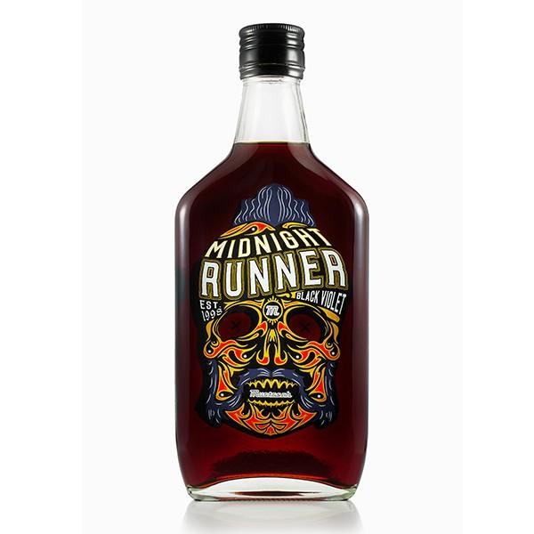 Mustasch Midnight Runner Black Violet 0,5L (22%)