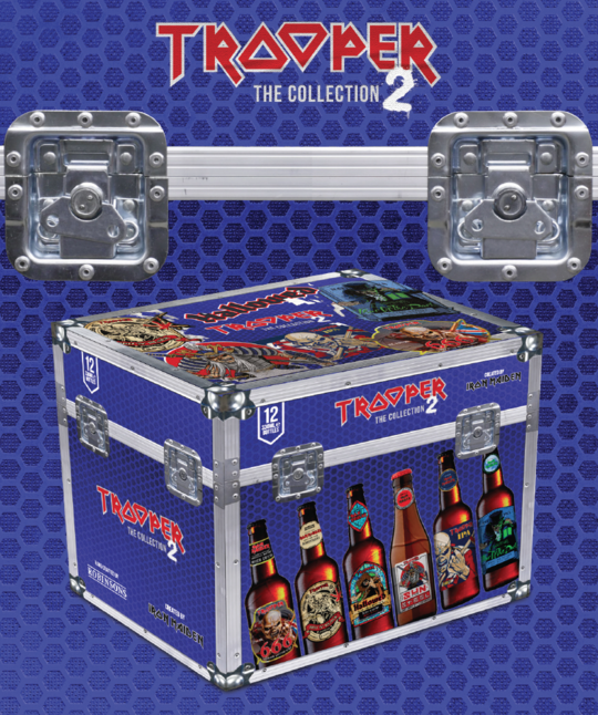Iron Maiden TROOPER COLLECTION BOX (12x330ml)