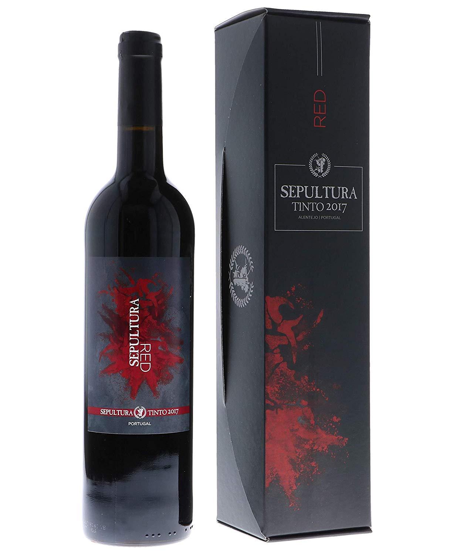 Sepultura Red Wine in der Geschenkbox