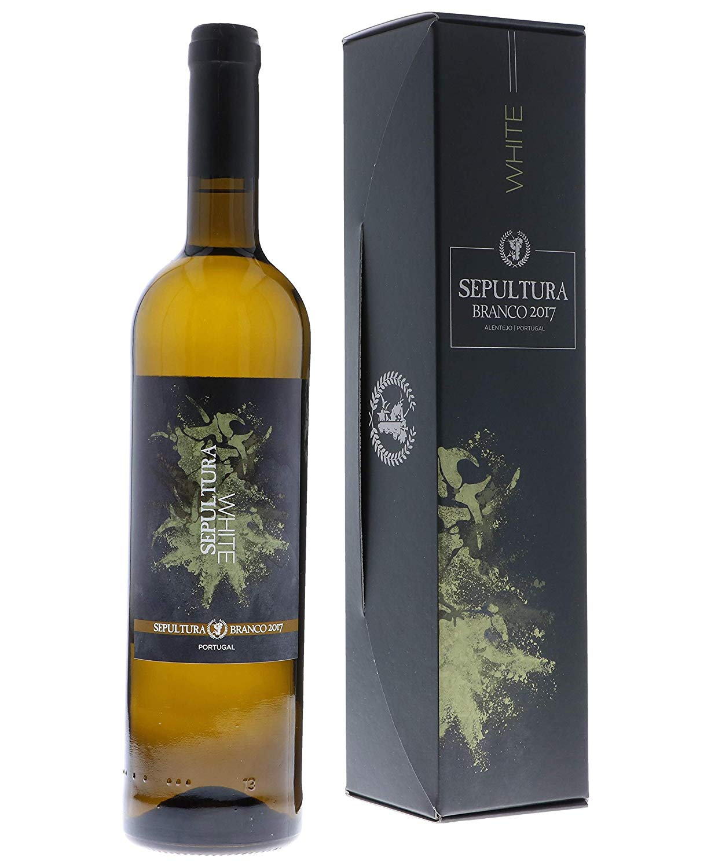 Sepultura White Wine in der Geschenkbox