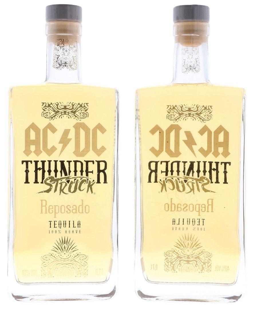 AC/DC Thunderstruck Tequila Reposado 0,7L (40% Vol.)