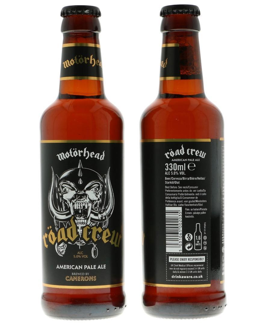 Motörhead Roadcrew Beer