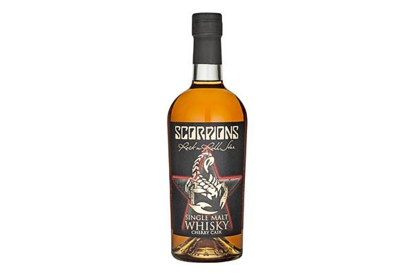 Scorpions Single Malt Cherry Cask Whisky 40 %