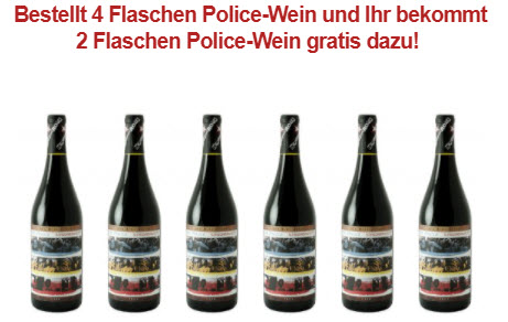 Special 6 = 4 The Police Synchronicity Red Wine Blend