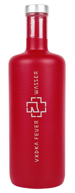 ROTE FLASCHE Rammstein Vodka 0,7L Feuer & Wasser 2020 Edition (40% Vol.)