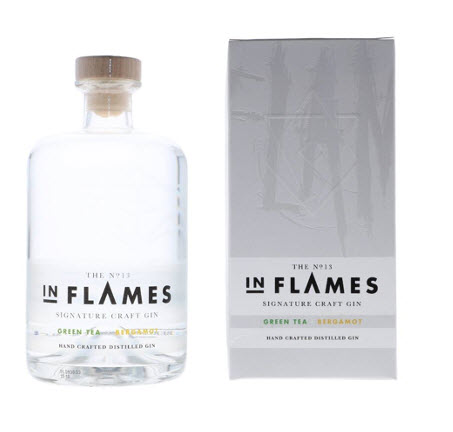 In Flames The No. 13 In Flames Signature Craft Gin 0,7L (40% Vol.) mit Geschenkbox